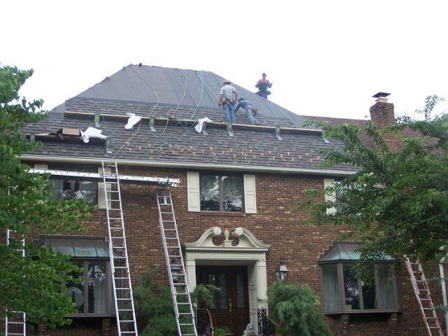 Dimensional Asphalt Roofing Installation Bergen