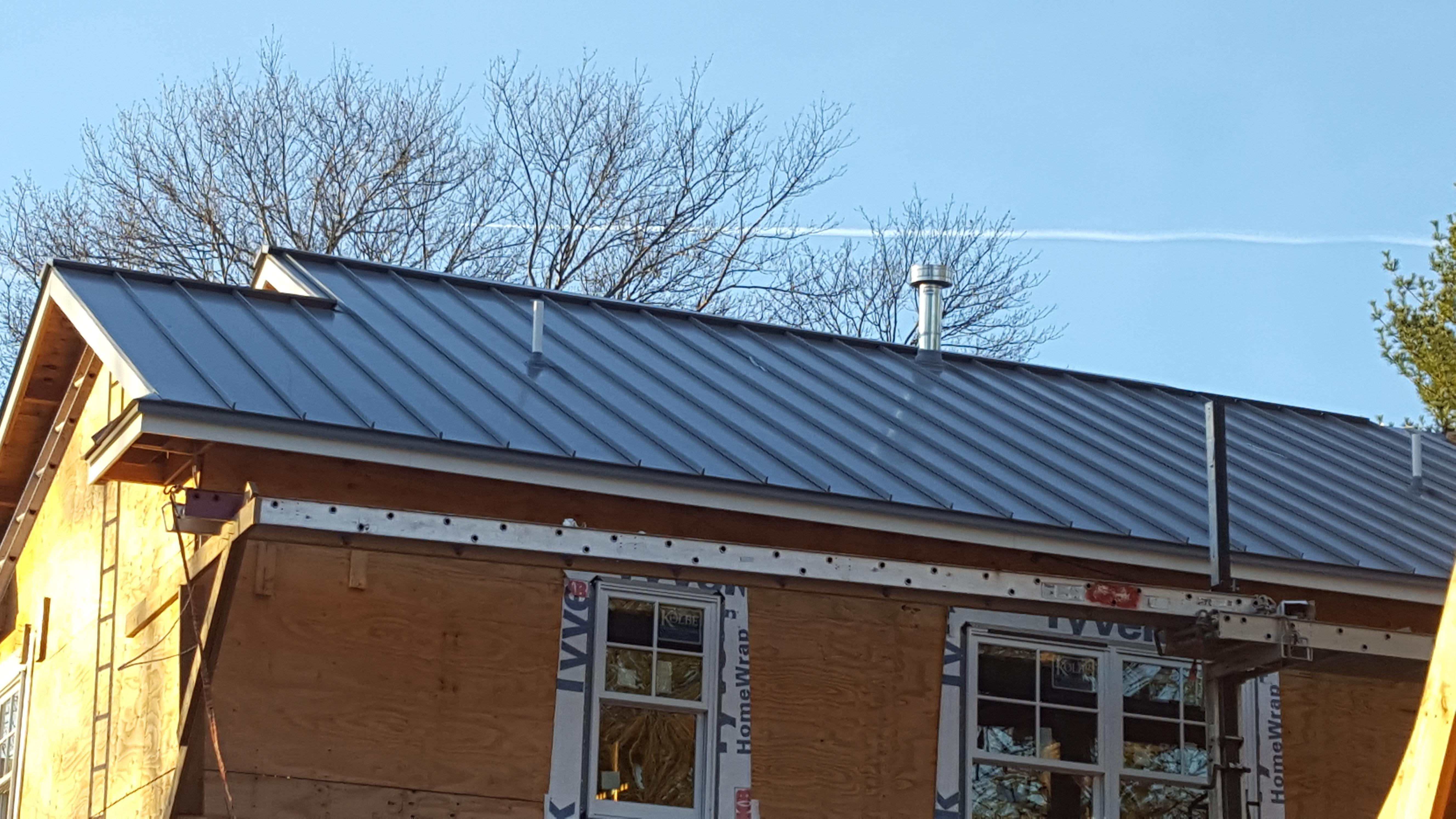 Metal Roofing Projects Bergen
